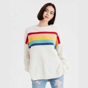 AE Chenille Crewneck Oversized Sweater
